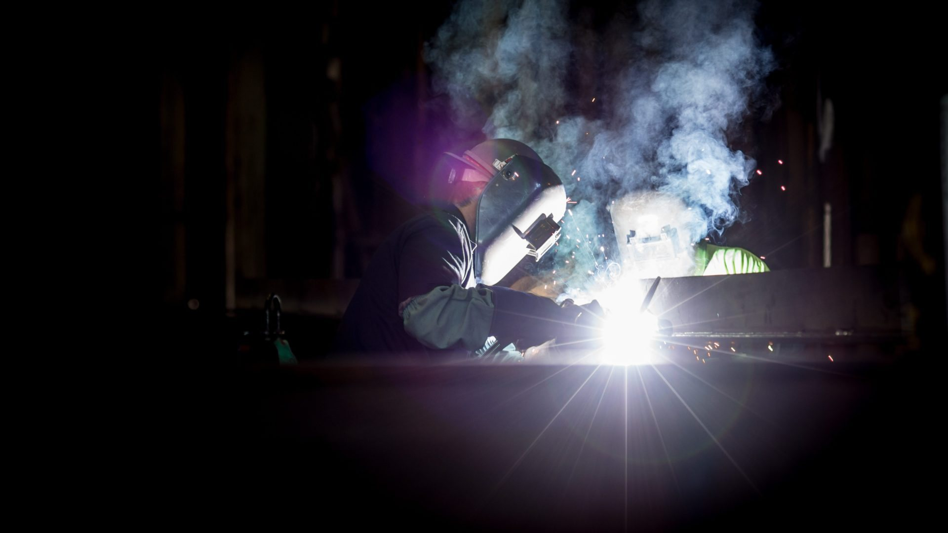 Steel welding image